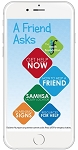 """A Friend Asks"" Phone Card"